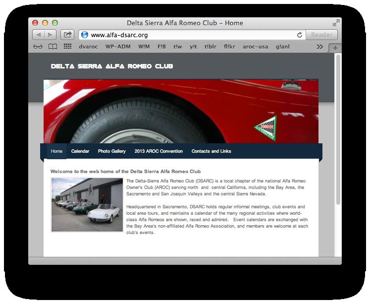 Delta Sierra Alfa Romeo Club