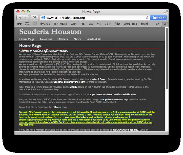 Scuderia Houston